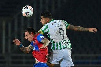 Duque marcó uno de los goles para Atlético Nacional