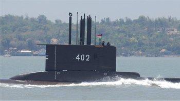 La Armada de Indonesia está en una carrera por encontrar el KRI Nanggala-402, aquí en una foto de archivo.