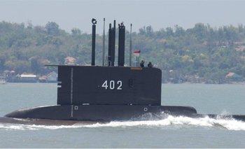 El submarino indonesio KRI Nanggala-402, en una foto de archivo.