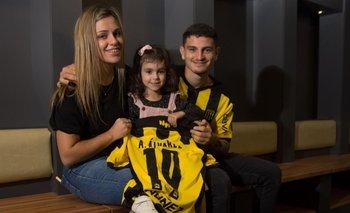 Agustín y su familia