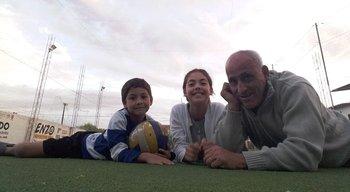 Los nietos, una de las nuevas pasiones de Antonio Alzamendi