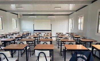 Nacional inauguró salones de clases de UTU en Los Céspedes