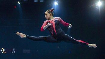 Sarah Voss dijo que esperaba que otras gimnastas siguieran el ejemplo de su equipo.