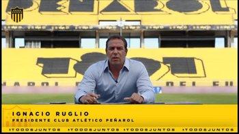 Ignacio Ruglio explicó los números del balance de Peñarol