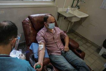 Donación de sangre en Uruguay