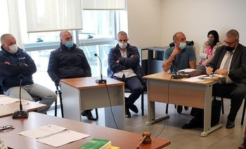Audiencia de formalización a Javier Sciuto, Fernando Vega y Fernando Ferreira.