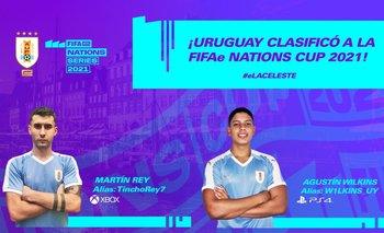 Uruguay clasificó a la FIFAe Nations Cup