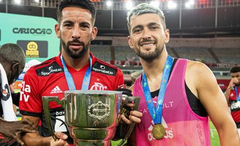 Giorgian De Arrascaeta ganó la Taça Guanabara 2021
