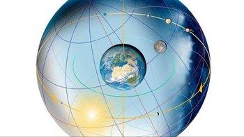 La inclinación de la Tierra, y por tanto su eje, dependen en gran medida de la propia masa del planeta
