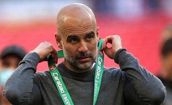 Pep Guardiola se colgó una nueva medalla