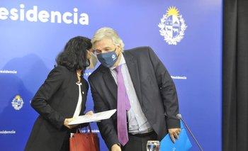 Arbeleche y Bustillo se reunieron con el presidente tras la reunión del Consejo del Mercado Común