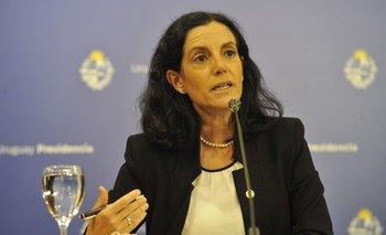 La ministra de Economía y Finanzas, Azucena Arbeleche.