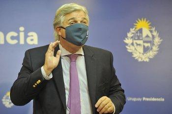 """El canciller Francisco Bustillo dijo que el voto de Uruguay se debió """"fundamentalmente"""" a razones de """"oportunidad"""""""