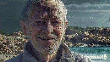 Mauro Morandi es conocido como el Robinson Crusoe de Italia