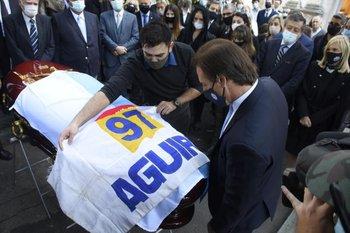 Despedida de Gonzalo Aguirre.