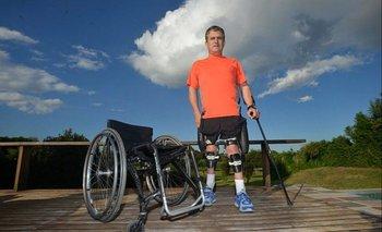 Jean Maggi, el argentino que podría convertirse en la primer persona con discapacidad en ir al espacio