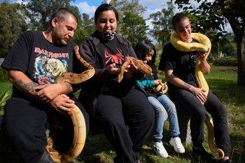 De izquierda a derecha: Ignacio, Irasema, Yara y Mauricio