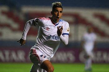 Leandro Fernández está en racha con tres goles