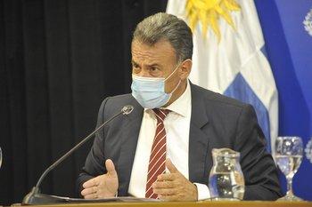 Daniel Salinas, ministro de Salud Pública