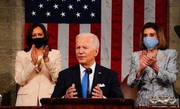 El primer discurso de Joe Biden ante el Congreso