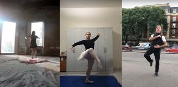 El Sodre celebró el Día internacional de la danza con una coreografía colectiva