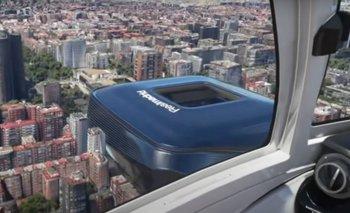 Simulación del nuevo estadio Santiago Bernabéu en el juego Flight Simulator