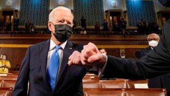 El presidente Biden planteo un plan significativo de gasto publico ante el Congreso