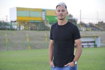 Maxi Silvera en el Parque Maracaná