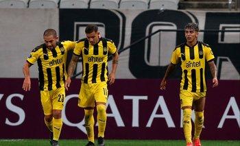 Gargano armó la jugada del segundo gol