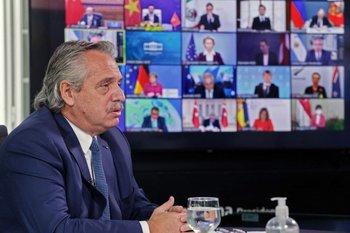 Alberto Fernández amplía las medidas de restricción