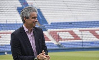 José Decurnex preside a Nacional desde diciembre de 2018
