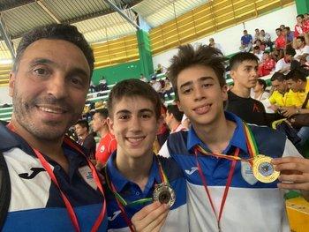 Pino Píriz, Tomás Dota y Bruno Ayphassoro