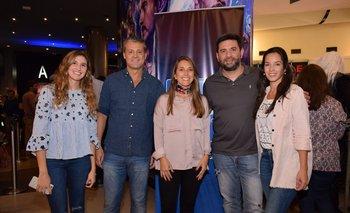Eleonora Fain, Eduardo Mandia, Valeria Álvarez, Laureano Reynes y Natalia Cirelli