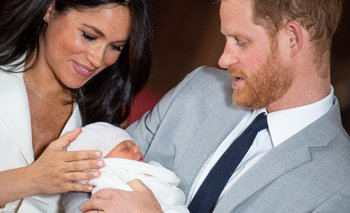 Meghan, Harry y su hijo Archie hace dos años