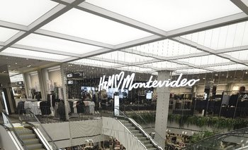 Local de H&M en Punta Carretas Shopping