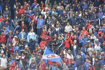 Banderazo de Nacional antes del clásico del Apertura 2019