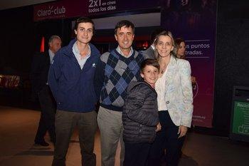 Pablo (h), Pablo y Federico Carrau y Rosario Gonzalez
