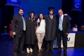 Americo Gaudio, Natalia Gaudio, María del Huerto Prato, Matías González y Pedro Presno