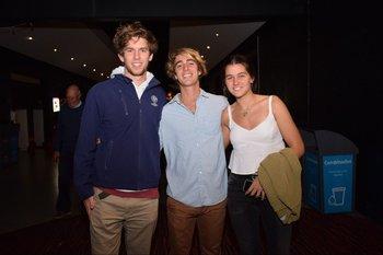 Luis Pedro Bonomi, Nicolás Benech e Inés Bonomi