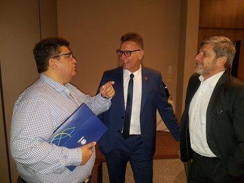 Alejandro Balbi y Jorge Barrera le propusieron a Wilson Seneme implementar el VAR en las finales del Uruguayo
