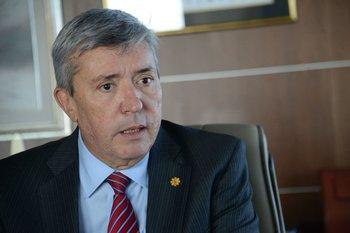 Juan Salgado, presidente de Cutcsa y de la Cámara de Transporte de Uruguay