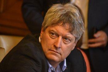 Rafael Michelini, secretario político del Frente Amplio