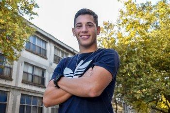 Luciano Boggio, volante de Defensor Sporting