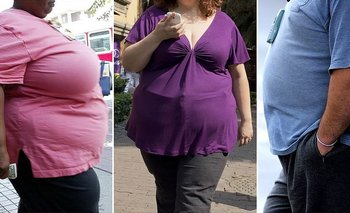 Uno de cada cuatro hombres en Argentina, Uruguay, Chile o México es obeso.