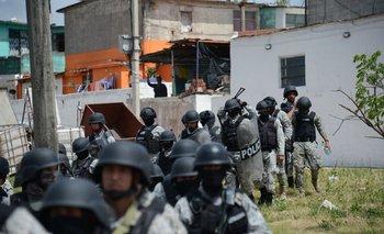 Operativo policial en el barrio Casavalle, 20 de diciembre de 2017