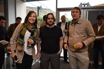 Alejandra Wetsch, Ignacio Irigoyen y Diego Cogorno