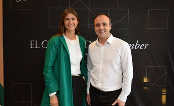 Ana Inés Maranges y Gonzalo Noya