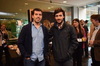 Gabriel Pérez y Santiago Barquin