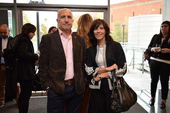 Gonzalo Suarez y Patricia Cardozo