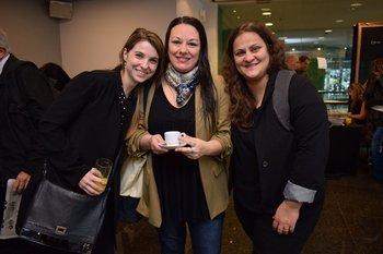 Laura Vico, Marcela Girardelli y Verónica Mattos